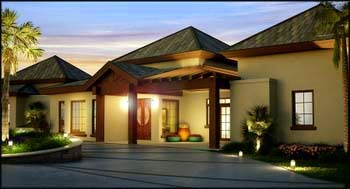 New concept villa 1 - St Kitts properties for sale at Sundance Ridge
