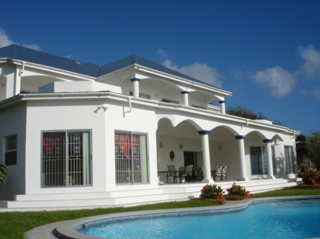 Large luxury frigate bay house for sale st kitts st for Big mansion homes for sale