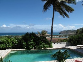 St Kitts real estate 5 bedroom house with ocean views in Frigate Bay
