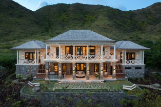 Large new luxury house in Christophe Harbour, St Kitts