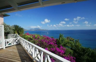 Horizons Villa in Frigate Bay St Kitts with ocean views