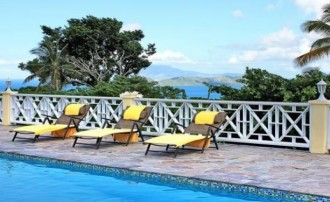Nevis real estate on Fern Hill with sea views and 4 bedrooms