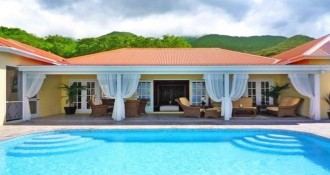 Luxury Fern Hill house for sale on Nevis