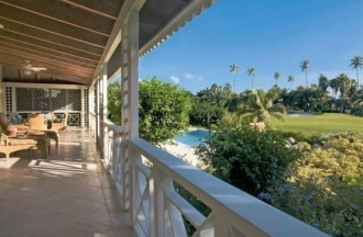 Palm Grove Villa in Four Seasons Nevis