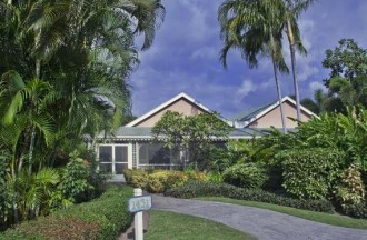 Semi detached Palm Grove Villa in Four Seasons Nevis