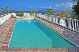Nevis house for sale with sea views and pool
