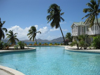 Cliff Dwellers resort. Nevis real estate for sale