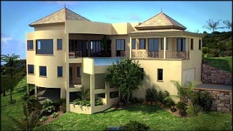 New concept villa 2 - St Kitts properties for sale at Sundance Ridge