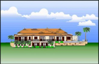 Sundance Ridge, New Solerno villa design - St Kitts properties for sale